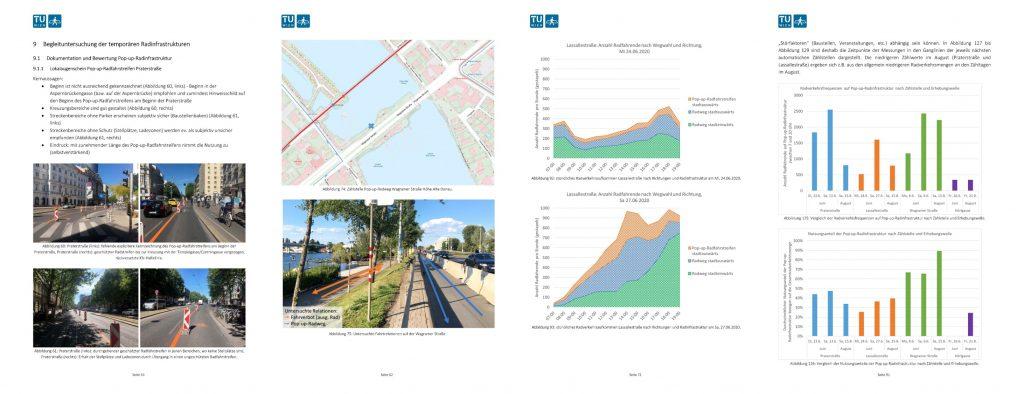 Vorschaubilder aus dem Projektendbericht